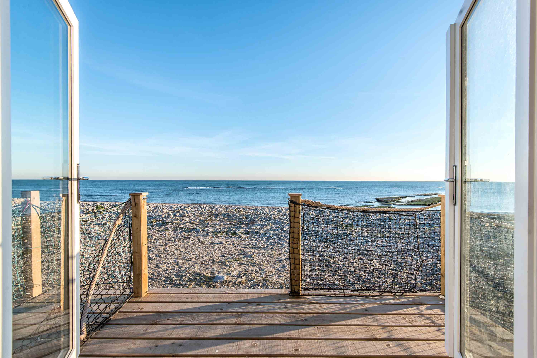 Beach House. Monmouth Beach. Beach House interiors Sea View
