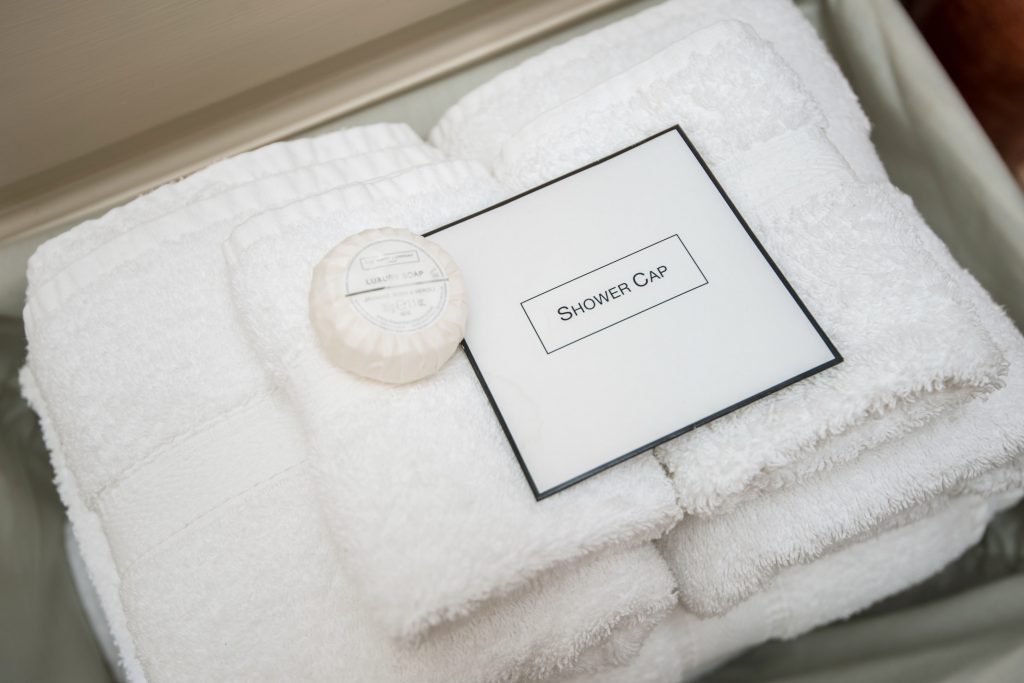 Cundall Lodge Farm North Yorkshire towels
